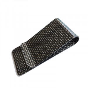 mens wallet with money clip matte finish