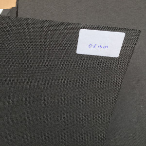 Excellent quality Blank Carbon Fiber Purse -