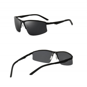 Good Quality New Design Polarized Women Men Carbon Fiber Sunglass Manufacture