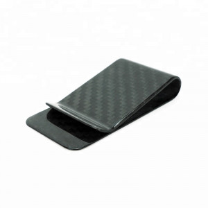 High Quality Real Carbon fiber Money Clip From China manufacturer