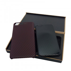 real carbon fiber cell phone case luxury material