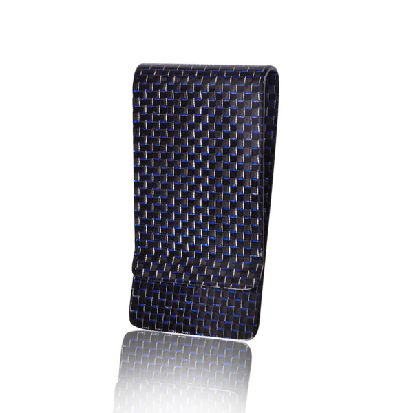 carbon fiber money clip credit card holder plain weave Featured Image