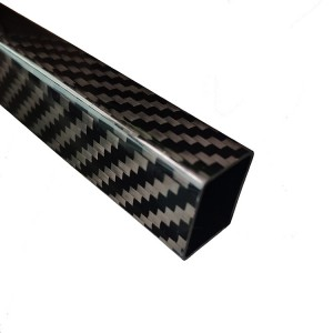 3k 100% Carbon Fiber Square Tube Pipe